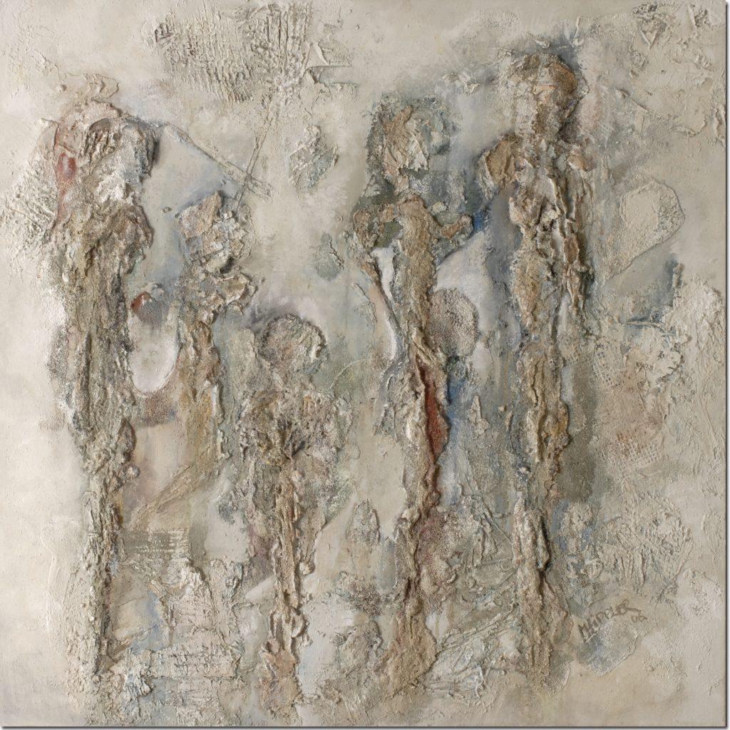 Familienaufstellung 1 | 80 x 80 cm | 2005