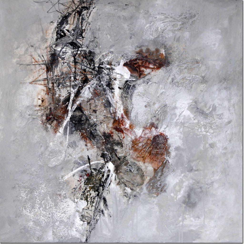 Wirbel | 90 x 90 cm | 2008