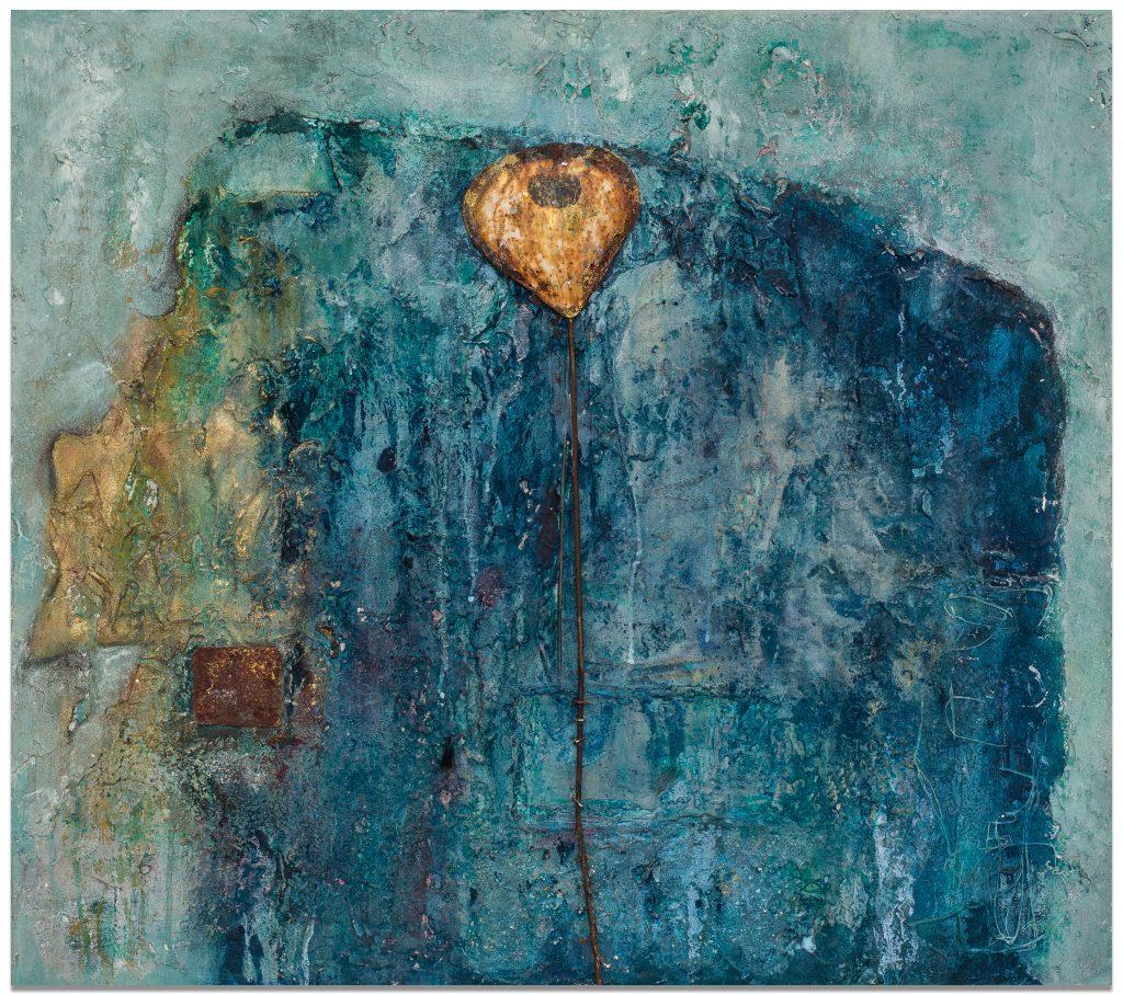 Rost-Blau | 90 x 80 cm | 2013