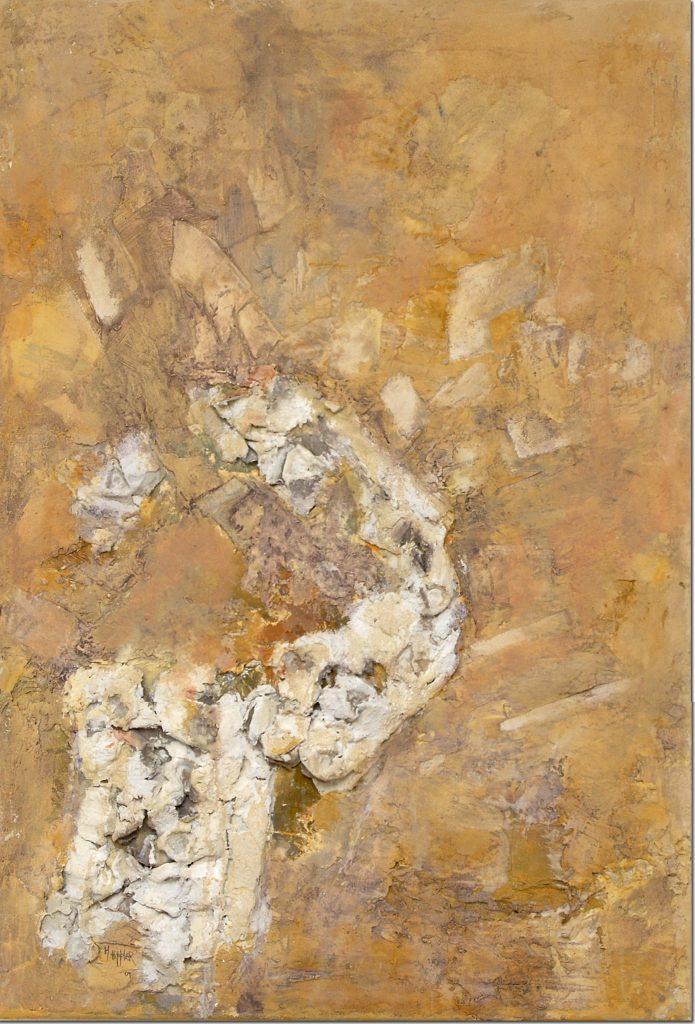 Archäologie als Gedächtnisspur | 70 x 100 cm | 2009