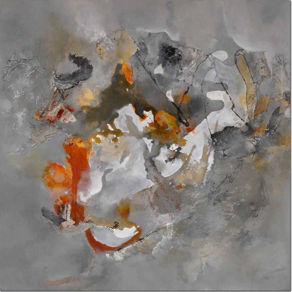 Spätsommerglut (1) | 80 x 80 cm | 2004