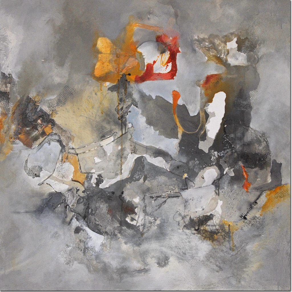 Spätsommerglut (2) | 80 x 80 cm | 2004