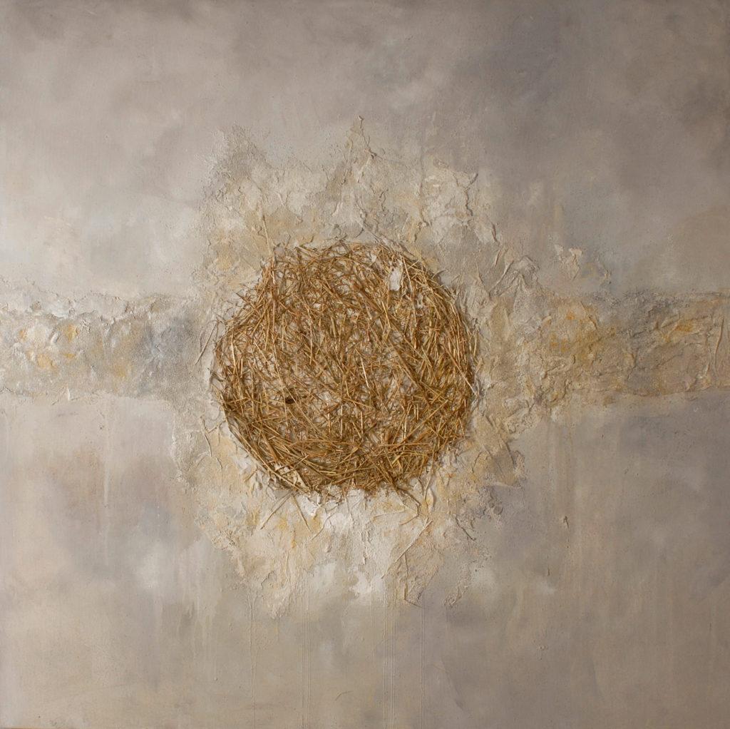 Leben (1) | 120 x 120 cm | 2007 - Triptychon